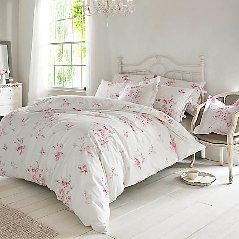 Holly Willoughby Olivia Raspberry Duvet Cover & Pillowcases #kaleidoscope #loveflorals