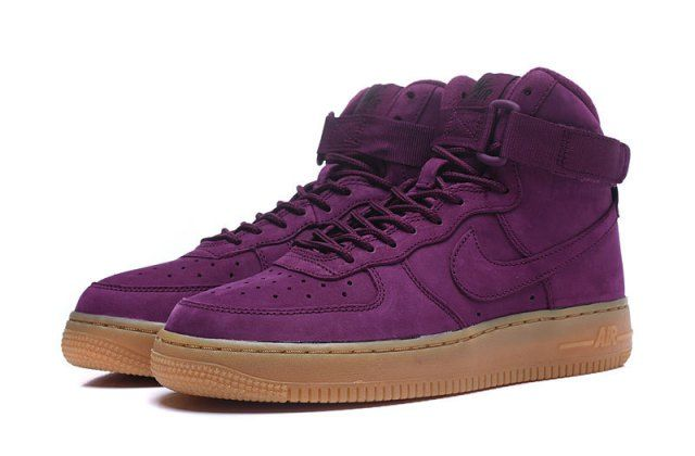 Do You Like The Nike Air Force 1 High Bordeaux