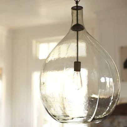 Pendant Lighting Demijohn Clift Oversize Glass Pendant