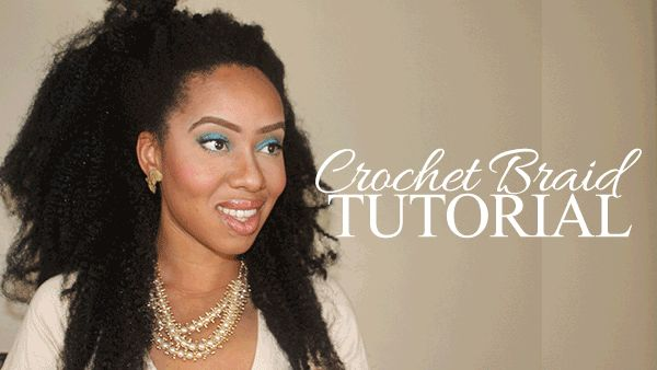 How to Crochet Braid w/ A Bobby Pin