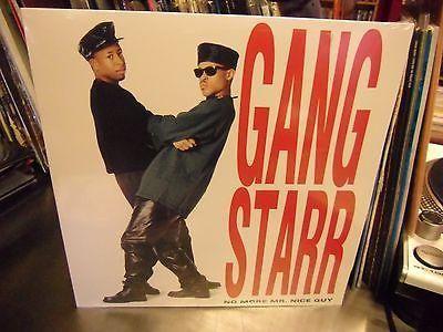 Gang Starr No More Mr. Nice Guy LP NEW vinyl [GURU DJ Premier]