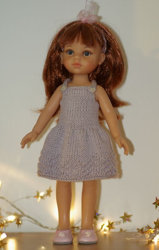 Tuto robe lilas pour Les Chéries, Paola Reina, H4H