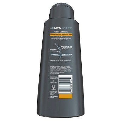 Dove Men+Care 2 in 1 Shampoo and Conditioner Thick and Strong 25.4 oz