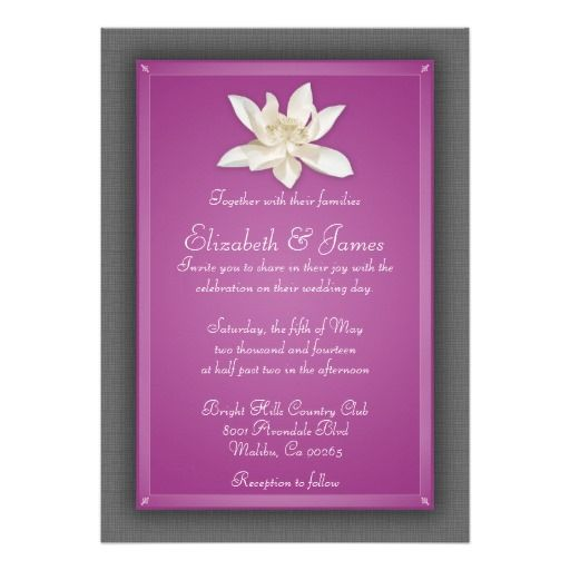 >>>Best          Fuchsia Wedding Invitations           Fuchsia Wedding Invitations so please read the important details before your purchasing anyway here is the best buyThis Deals          Fuchsia Wedding Invitations Here a great deal...Cleck Hot Deals >>> http://www.zazzle.com/fuchsia_wedding_invitations-161899823509505120?rf=238627982471231924&zbar=1&tc=terrest