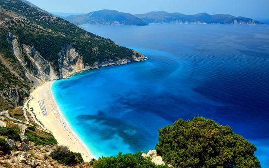 Myrtos- Kefalonia – Ionian Islands  http://linkgreece.com/travel/blog/blog/2015/03/19/the-top-10-greek-beaches-for-2015/