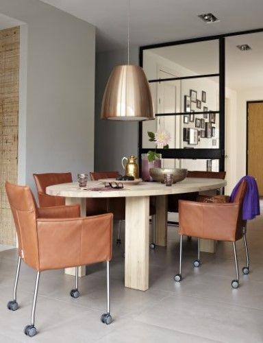 Eetkamer inspiratie van design on stock tafels pinterest interieur van and design - Modern eetkamer model ...