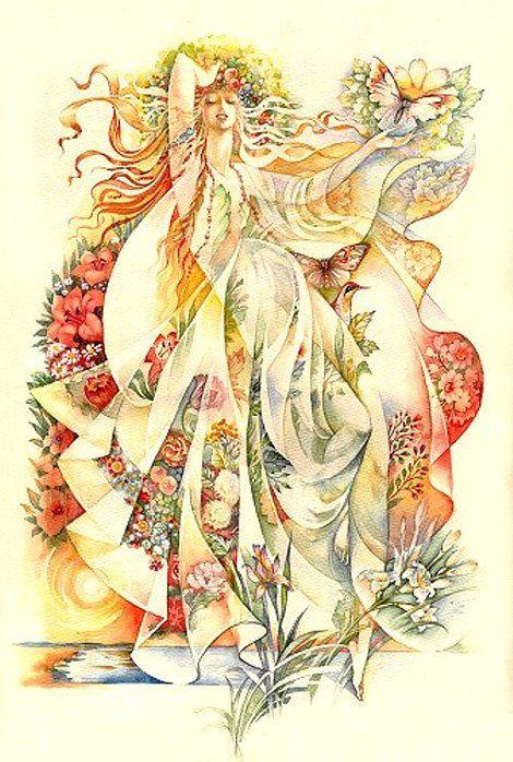Ukrainian Summer, painting by Starovoitova, from Iryna with love