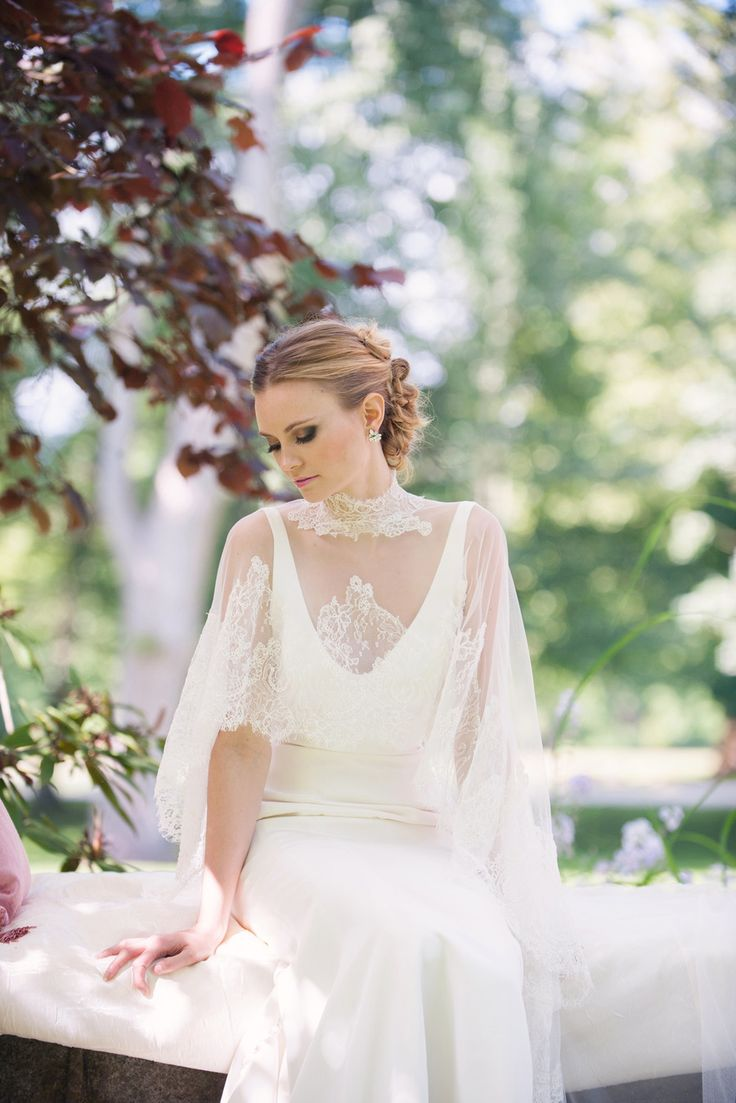 Wedding Gown Love = Ines di Santo | Photo: MelissaGidneyPhoto.com