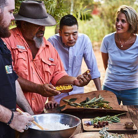 Bush Tucker Journeys Cooking Demo