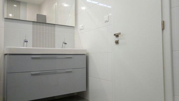 White Gray Bathroom