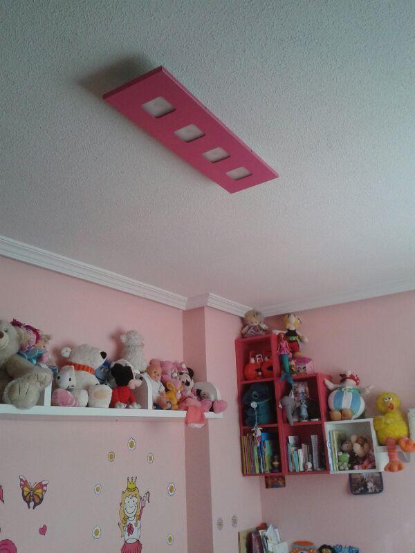 Lampara k rbelux a juego con la decoraci n infantil de la - Lampara habitacion infantil ...