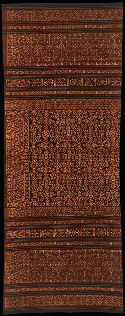 Ikat from Lio, Flores Group, Indonesia