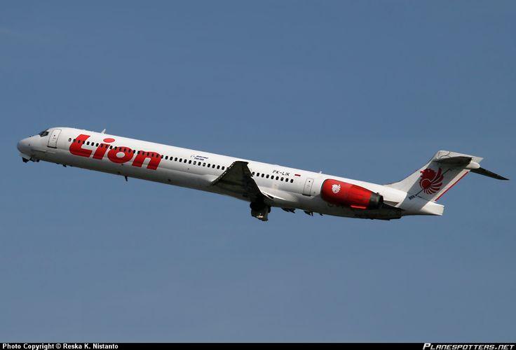 PK-LIK Lion Air McDonnell Douglas MD-90-30