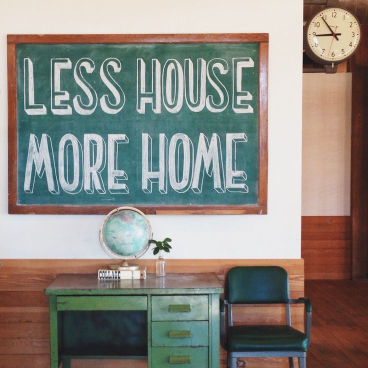 Less House / More Home | Schoolhouse Electric