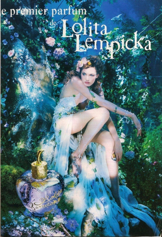 Lolita Lempicka fragrance is based on licorice. Beautiful anise note is a perfect match to licorice and violet. The intensive green ivy note is fresh and optimistic. The almond is in harmony with woodsy iris and sweet vanilla, united with heliotrope and Tonka. It was created in 1997.