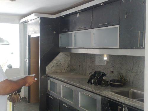 modelos de cocinas empotradas en concreto y ceramica decoracion