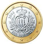 1 euro San Marino
