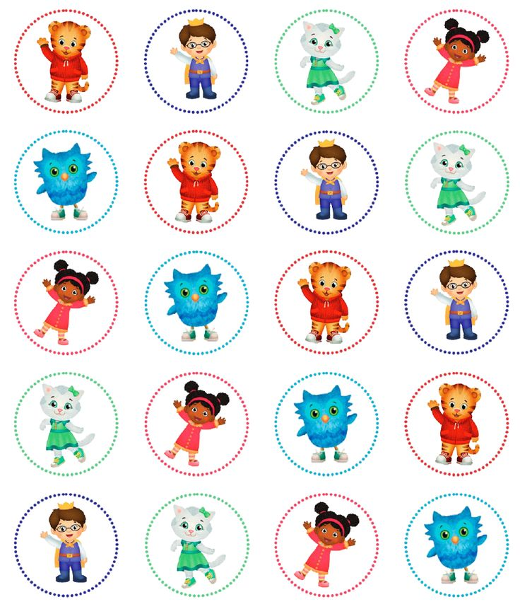 Pin By Crafty Annabelle On Daniel Tiger Printables In 2019