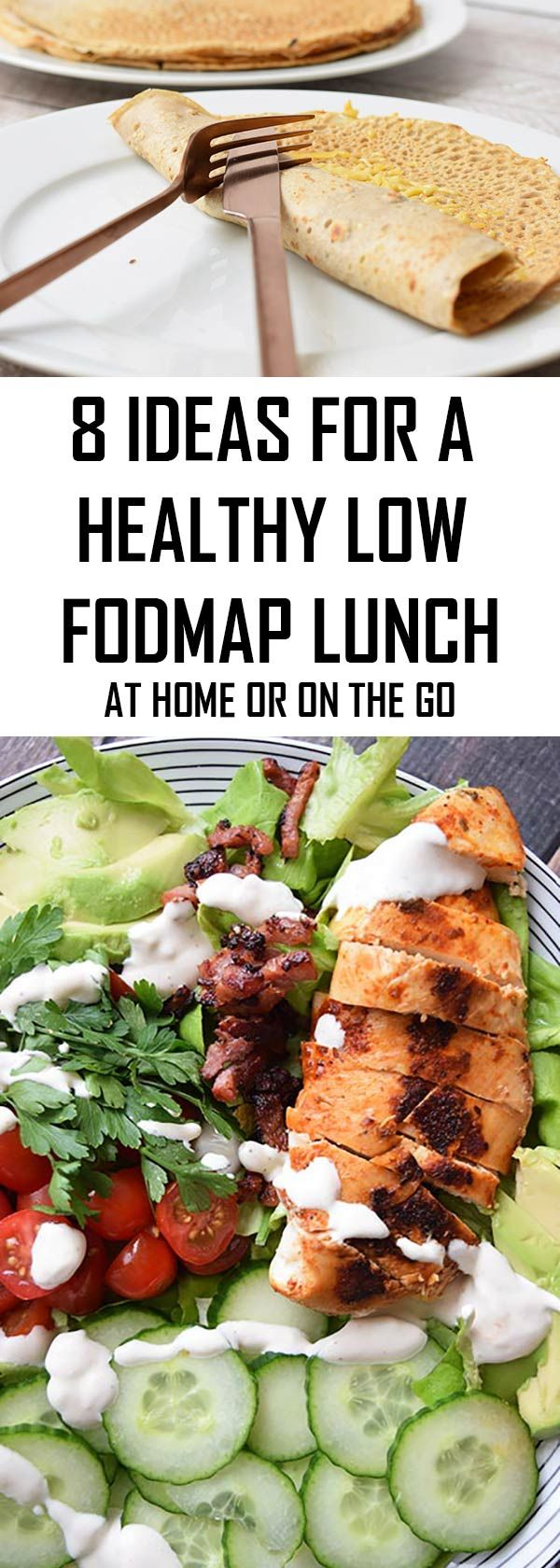Never no what to have for lunch on the low FODMAP diet? With this blog you will never run out of ideas again! Most options are also gluten- and lactose-free