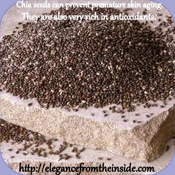 Chia seeds are a very rich source of vitamins. They can be added to cereals, baking and smoothies.