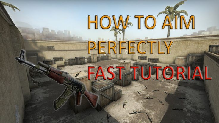 How to aim perfectly in CS GO! - Fast Tutorial