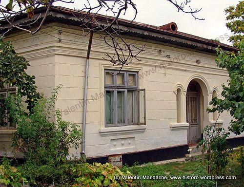 Adobe townhouse, Little Paris style, Buzau, south east Romania