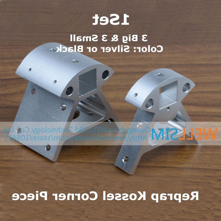 29.84$  Watch now - https://alitems.com/g/1e8d114494b01f4c715516525dc3e8/?i=5&ulp=https%3A%2F%2Fwww.aliexpress.com%2Fitem%2F3D-Printer-Accessories-Set-Full-Metal-Kossel-Aluminum-Alloy-Delta-Set-Big-And-Small-Corner-Fitting%2F32455067896.html - 1Set Reprap Kossel All-metal Aluminum Corner Piece Frame Vertical Base Delta Top Bottom Vertex Big And Small 3D Printer Parts