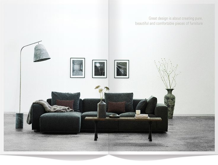 Great design is about creating pure, beautiful and comfortable pieces of furniture
