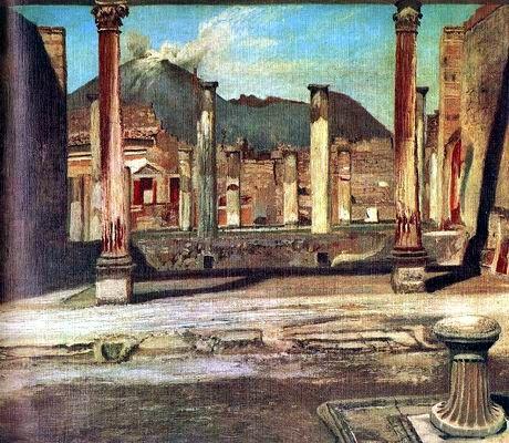 Csontváry Kosztka Tivadar: Pompeji Have