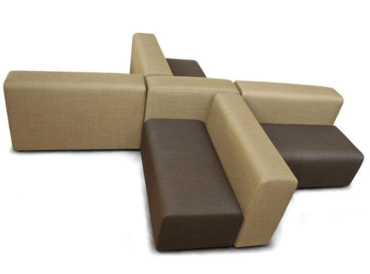 Секционный модульный диван ткани АЛЕА   секционный диван - Росси ди Альбиццате