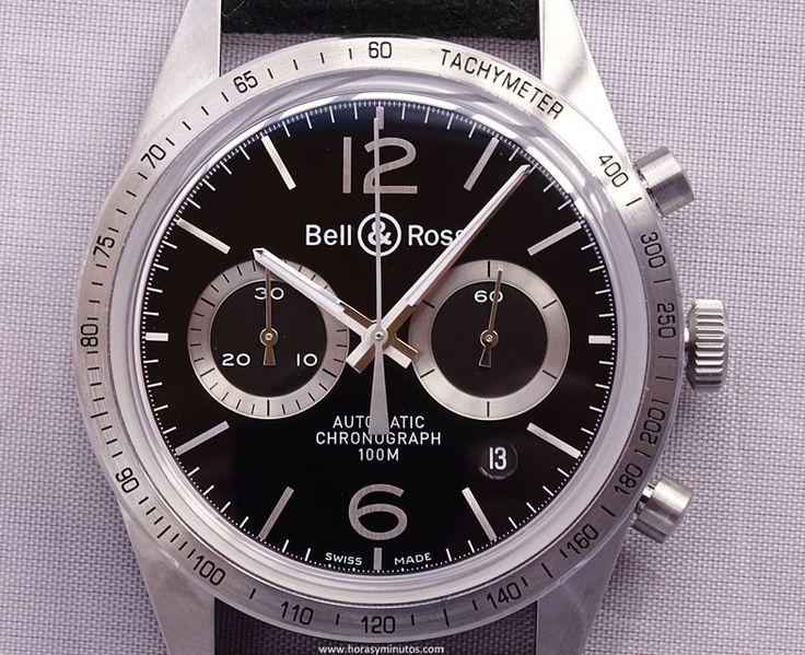 Bell & Ross Vintage BR 126 GT frontal 1