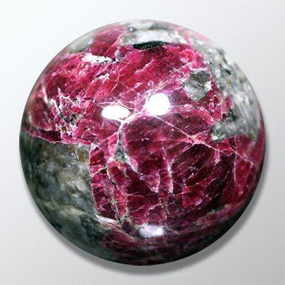 Эвдиалит, шар