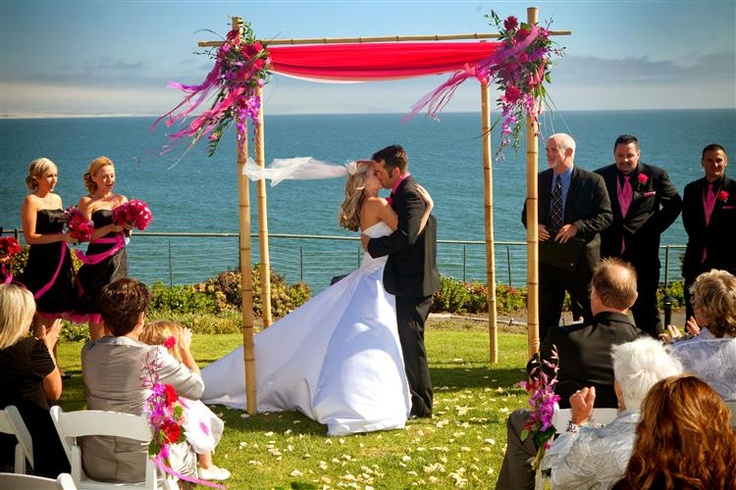 Cliff Side Wedding At Ventana Grill In Pismo Beach CA Photography By Marcia
