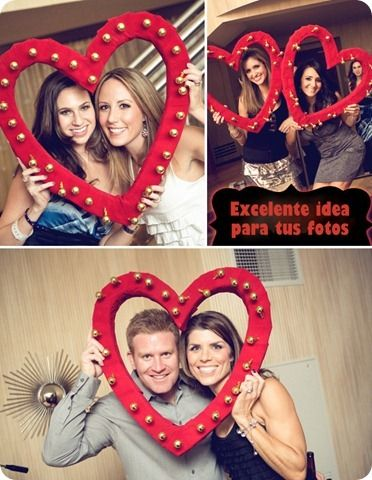 Ideas para amor and foto frame on pinterest for Decoracion de cuartos 14 de febrero