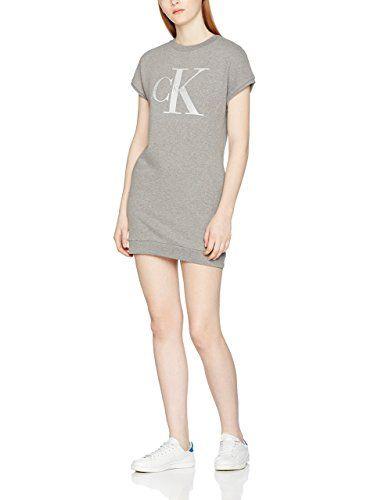 9fbdb0adfeda Calvin Klein Jeans Damen Kleid True Icon Cn Hwk S S Dress