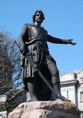 William Wallace statue/Sir William Wallace (Medieval Gaelic: Uilliam Uallas…