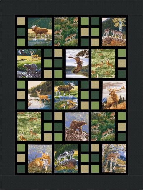Best 25+ Panel quilts ideas on Pinterest | Fabric panel ...