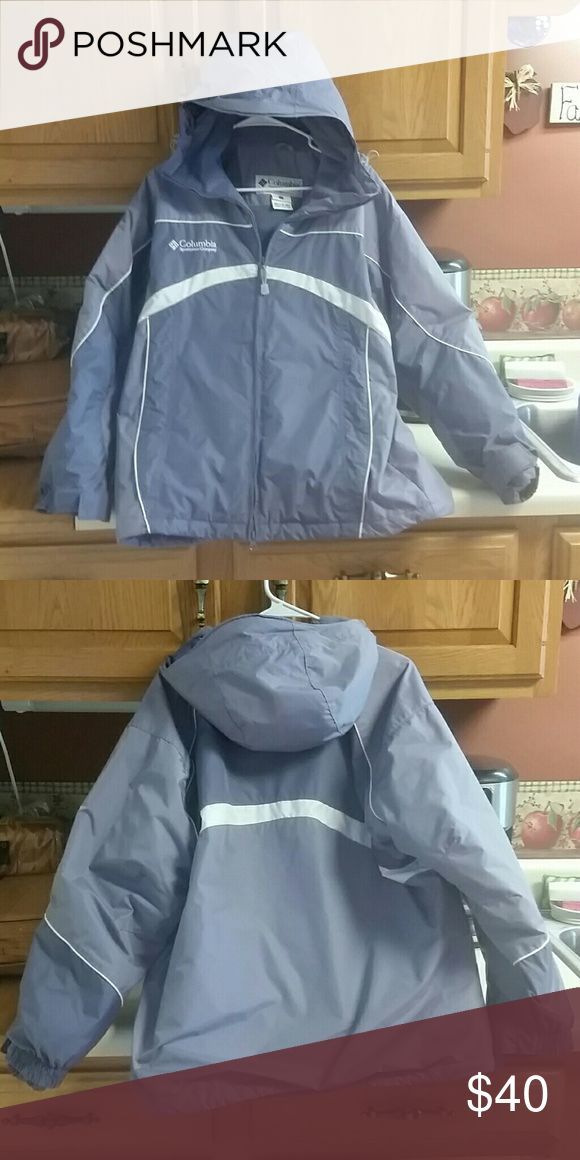Columbia Parka Style Coat Excellent condition, fleece lined, women's Columbia style coat. Very warm and water resistant. Columbia Jackets & Coats