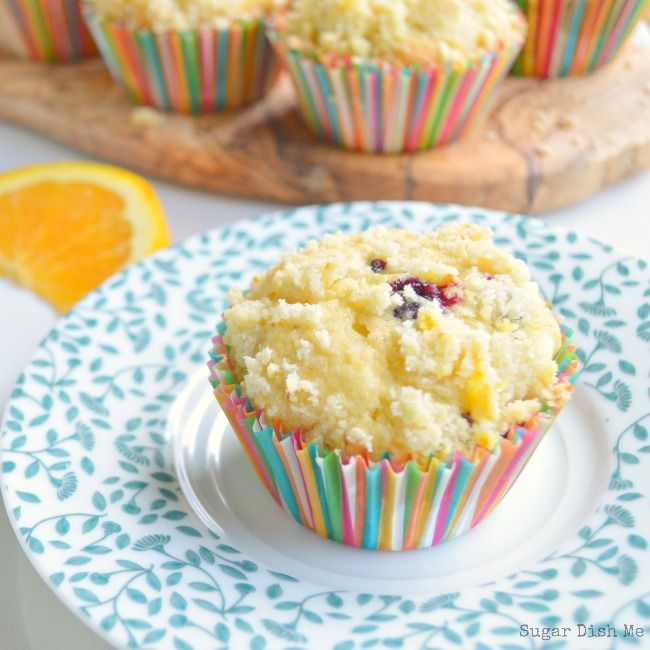 Orange and Brown Butter Blueberry Muffins | Recipe