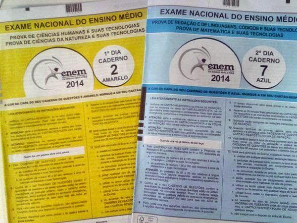 JORNAL O RESUMO - EDUCAÇÃO Compartilhe JORNAL O RESUMO: Veja o gabarito oficial completto do Enem 2014