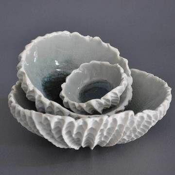 46 best nesting bowls images on Pinterest | Ceramic pottery ...