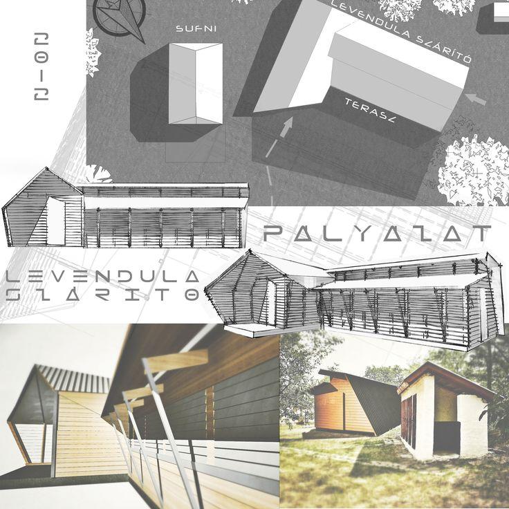 LEVENDULA SZÁRÍTÓ - PÁLYÁZAT - B!ROM - Biró Máté építész portfólió