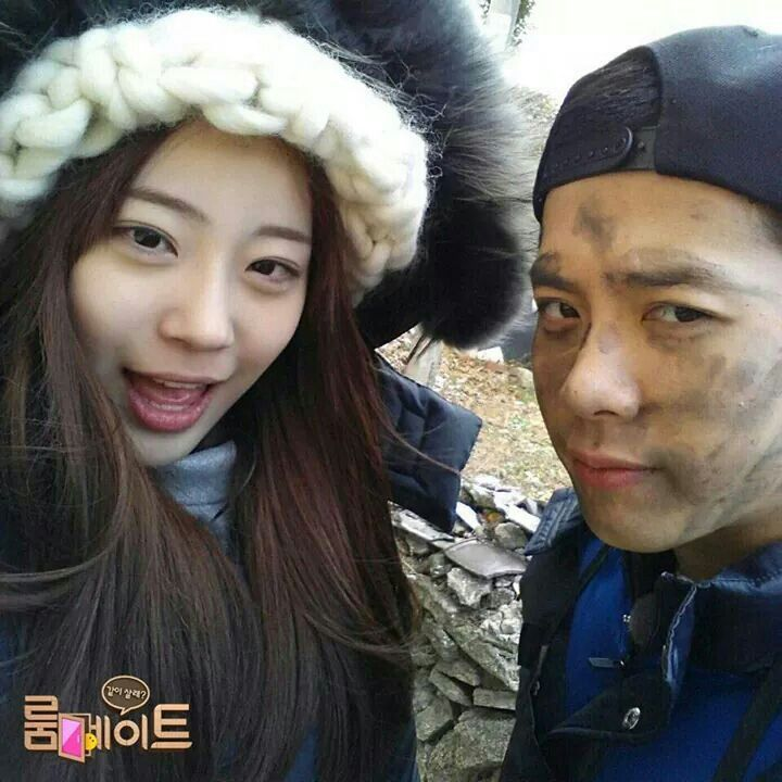SBS Roommate | Jackson and Youngji.♥♥♥
