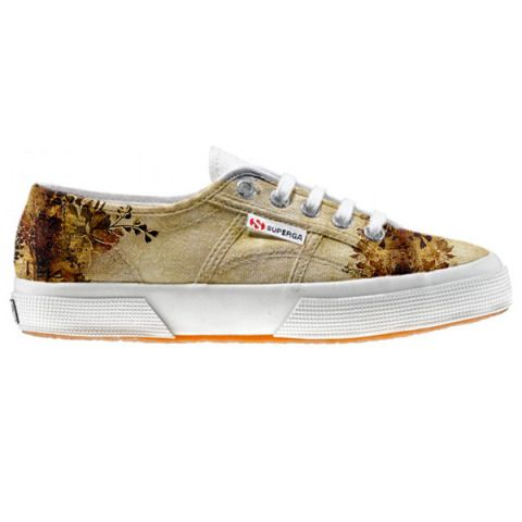 Shoe Superga cutomized Old Texture