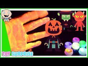 video Halloween para niños en español. Aprende los Patrones de Halloween. Caricaturas y dibujos. - YouTube