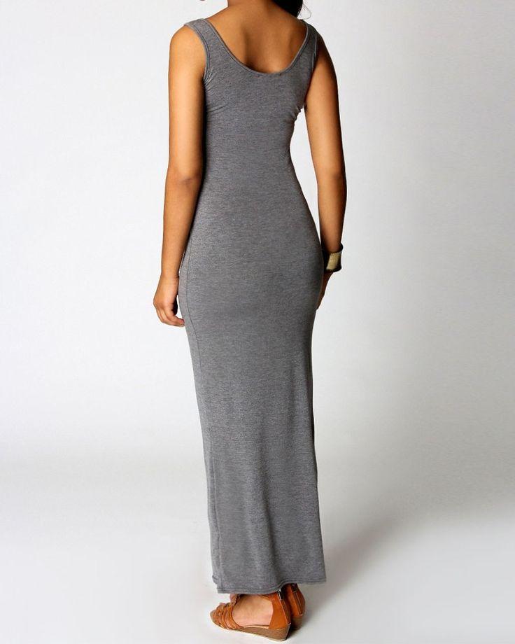 Kimaya Jersey Maxi Dress