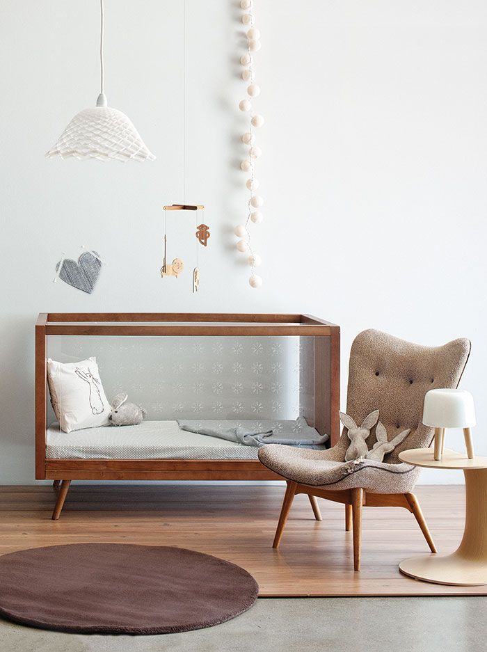 Scandinavisch design op de babykamer.