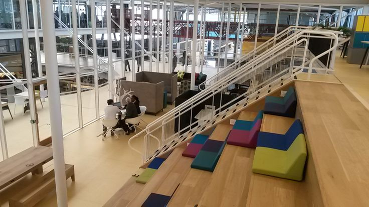 Ergoform Office installation at Workshop 17,  V& A Waterfront, Cape Town