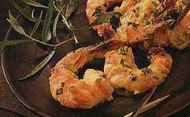 Broiled Shrimp with Mustard and Tarragon