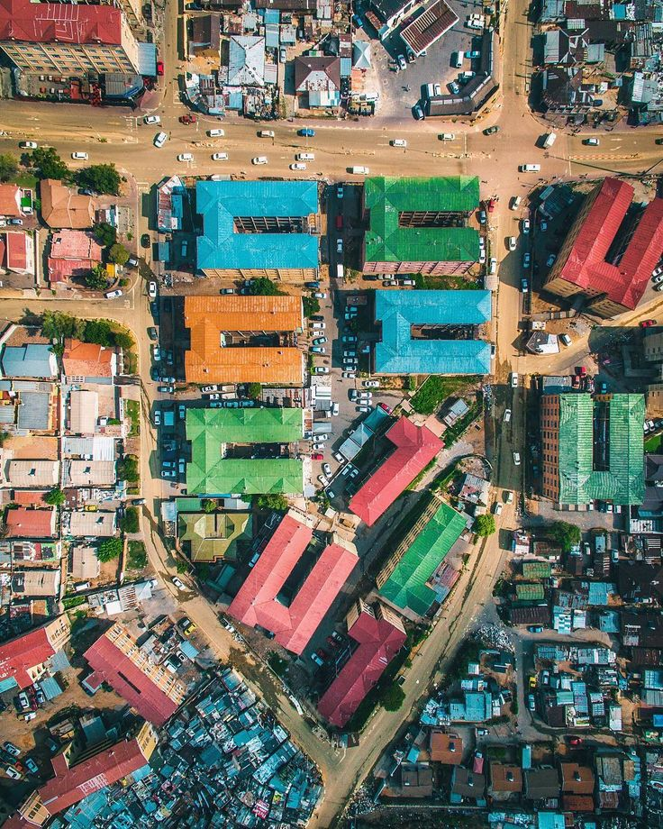 Alexandra Township from the air. Looks just like Tetris, or is it a Police badge These blew my mind